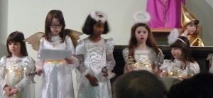 Angelic hosts proclaim